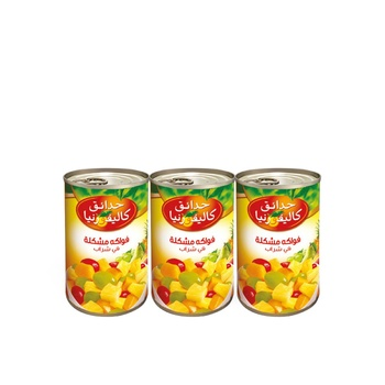 California Garden Fruit Cocktail in Syrup 420g Pack of 3