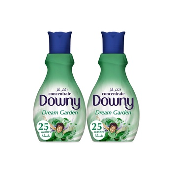 Downy Concentrate Fabric Softener Dream Garden 1 ltr Pack Of 2