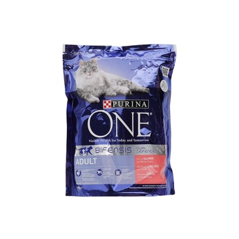 One Adult Cat Salmon& Whoelgrain 4X800g N1