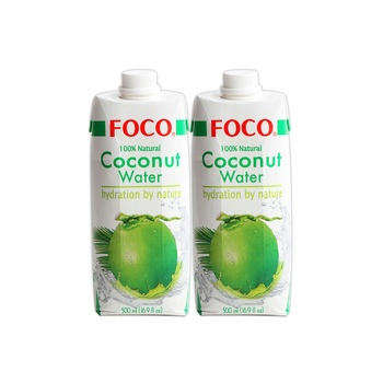 Foco UHT Coconut Water Original 2 x 500ml