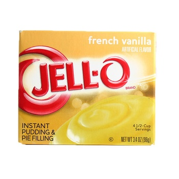 Jell-O pudding french vanilla mix  3.4oz