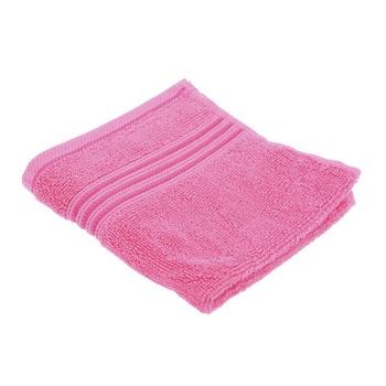 Infinity Face Towel 33X33cm  - Dark Pink
