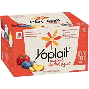 Yoplait Fruit Yoghurt Asstd 4x120g