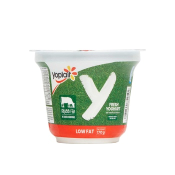 Yoplait Plain Low Fat 170g