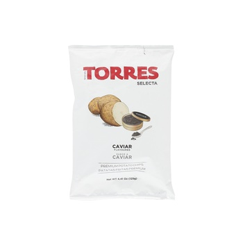 Torres Caviar Flavor Potato Chips 125g