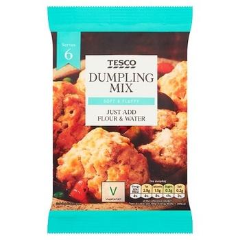 Tesco Dumpling Mix 137g