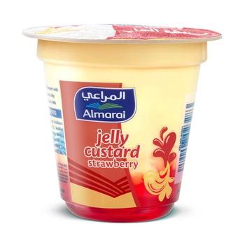 Almarai Jelly Custard Strawberry 100g