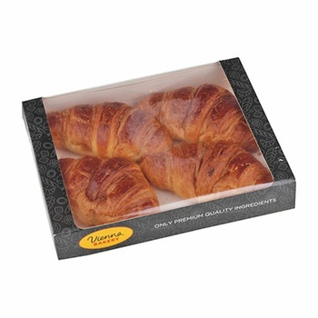 Vienna Bakery Butter Croissant 4 Pieces