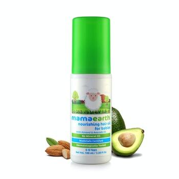 Mamaearth Nourishing Hair Oil For Babies 100ml