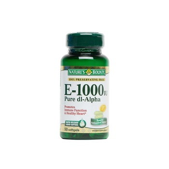 Natures Bounty Vitamin E - 1000iu
