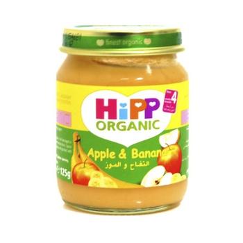 Hipp Organic Baby Food Apple & Banana 125g