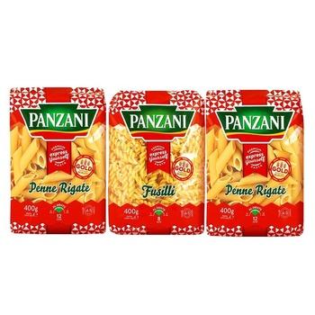 Panzani Assorted Pasta 3X400g