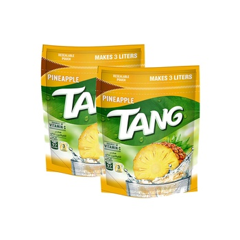 Tang Instant Drink Pineapple Flavor 375g Pack of 2