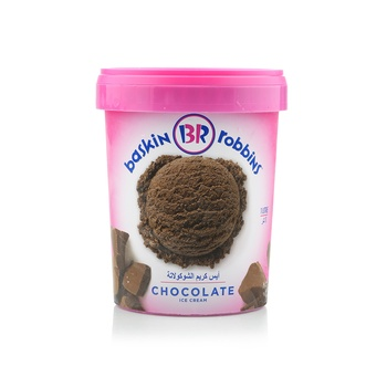 Baskin Robbins Chocolate Ice Cream 1ltr