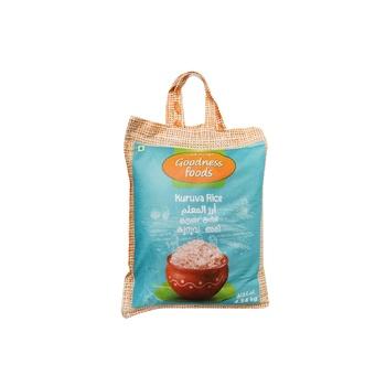 Goodness Foods Kuruva Rice 4.54kg