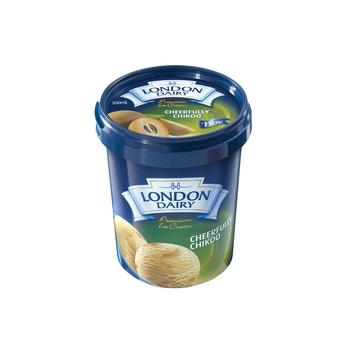 London Dairy Ice Cream Cheerfully Chikoo  500ml