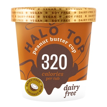 Halo Top Dairy Free Peanut Butter 473g