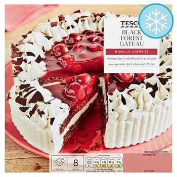 Tesco Black Forest Gateau 630g