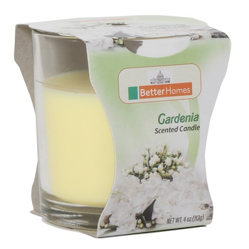 Better Homes Gardenia Candle 4Oz