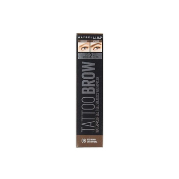Maybelline TattooBrow Waterproof Gel Deep Brown 06
