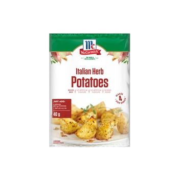 Mccormick Italian Herb Potatoes Recipe Base 40g