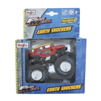 Maisto Metal Die Cast Earth Shocker Monster Truck
