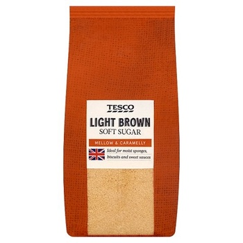 Tesco Light Soft Brown Sugar 500g