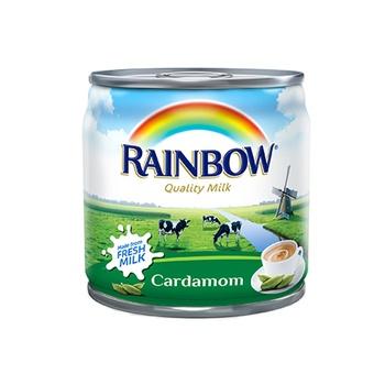 Rainbow evaporated milk cardamon 170ml