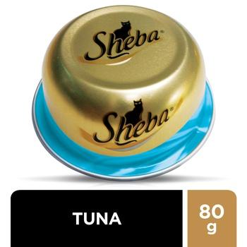Sheba Cat Food Tuna & Mussels 80g