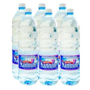 Sannine Miniral Water 6 x 1.5L