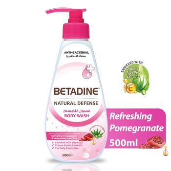 Betadine Body Wash Pomegrante 500ml