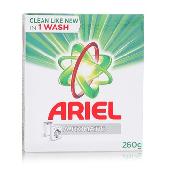 Ariel Concentrated Detergent Powder Green 260g