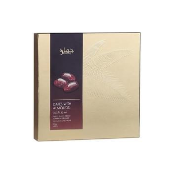Jomara Dates with Almond Gift Box 225g