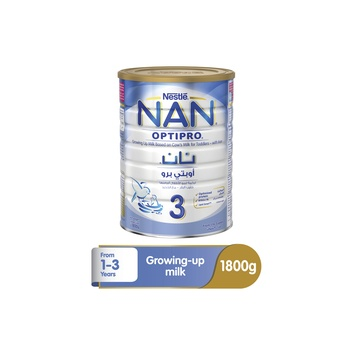 Nestle Nan Optipro Baby Food Formula 1  3 Years 1.8kg