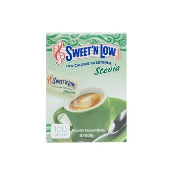 Sweet N Low Stevia Sachets 100s