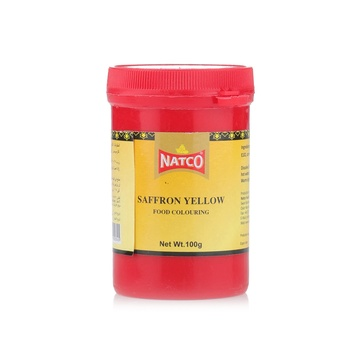 Natco Food Saffron Yellow Colour 100g