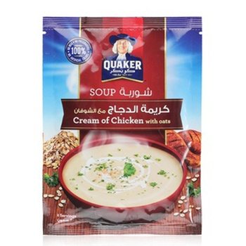 Quaker Soup Cream Of Chicken With Oats 64g