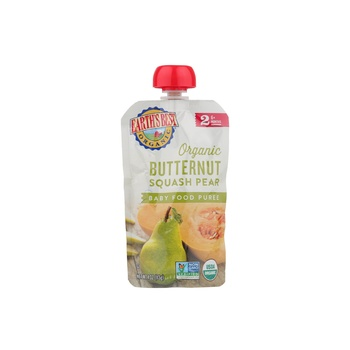 Earth's Best Organic Butternut Squash Pear Baby Food Puree 113g