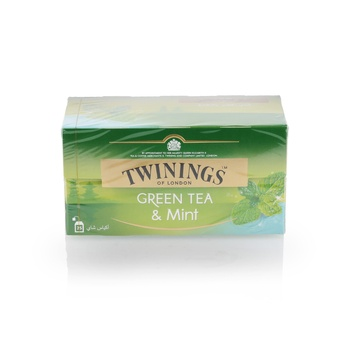 Twinings Green Tea & Mint 25 Pcs