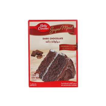 Betty Crocker Super Moist Dark Chocolate Fudge