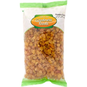 Goodness Foods Raisins Golden Iran 1Kg