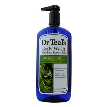 Dr. Teals Epsom Salt Body Wash Eucalyptus & Spearmint 710ml