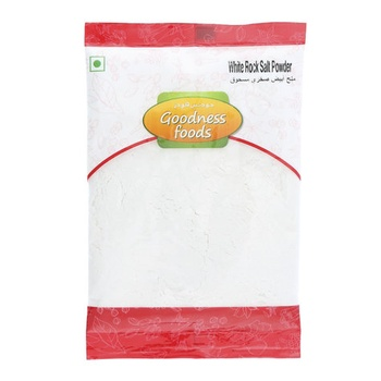 Goodness Foods White Rock Salt Powder 100g