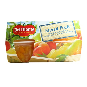Del Monte Fruit To Go Mixed Fruit 454g