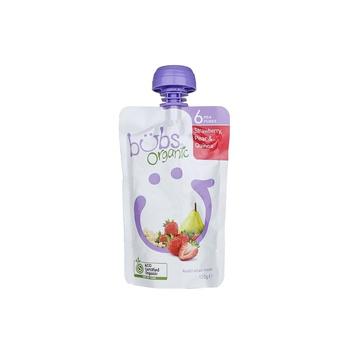 Organic Bubs Strawberry Peach & Quinoa 120g