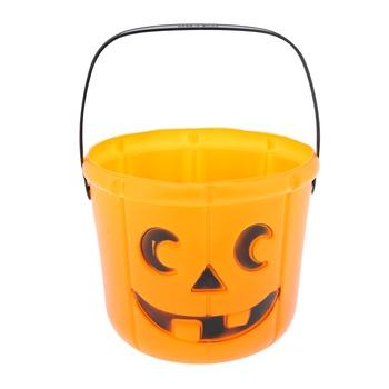 Halloween Pumpkin Barrel Long