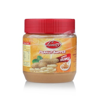Family Creamy Peanut Butter 340g