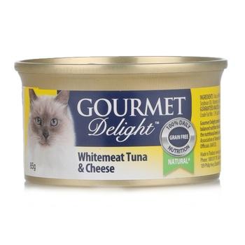 Groumet Delite with Tuna Shrimp Calmari 85g