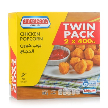 Americana Chicken Pop Corn 2 x 400g