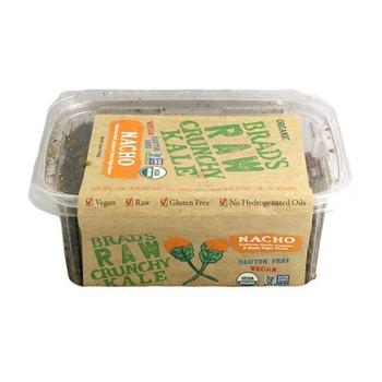 Brads Raw Food Leafy Kale Natural Nacho 70g
